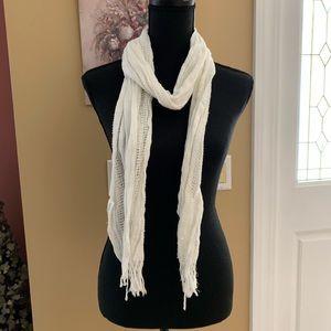 white Aeropostale scarf